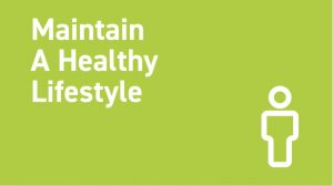 Healthy Lifestyle Maintenance