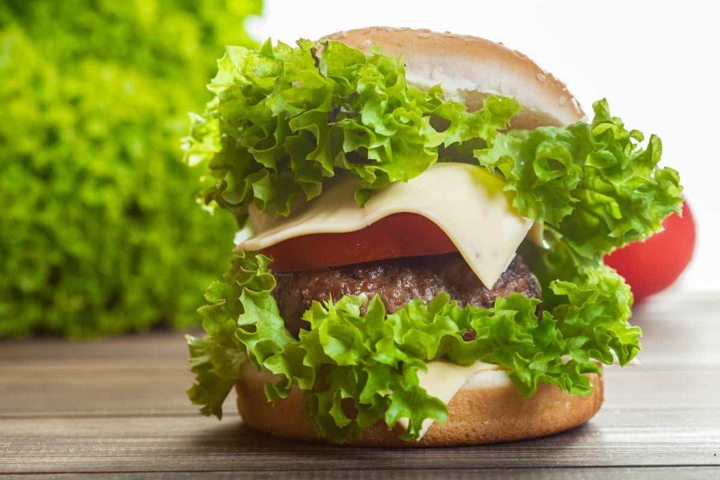 Iceberg Burger-healthy-snacks